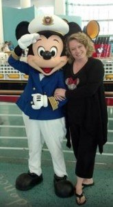 Cpt. Mickey and Mom
